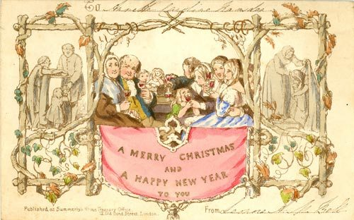 Christmas Card History « Something Olde